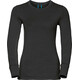 Odlo Natural 100% Merino Warm Crew Neck LS Shirt Women black